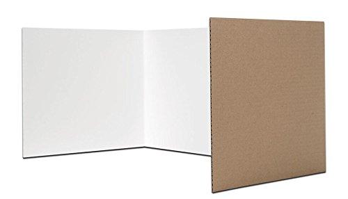 Flipside Products 60005 Karrels, Wellpappe, 30,5 x 121,9 cm, Weiß, 24 Stück