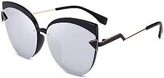 Sunglasses Fashion Accessories Fashion Sunglasses Polarizer Big Box Car Driver (Color : Silver)