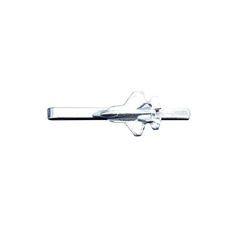 Krawattennadel Mig Flugzeug aus Zinn (Pewter) von Hand Gegossen