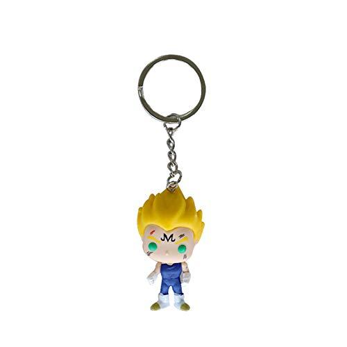 Yuqianjin Pop Llavero Dragón Bola: Pop BEJ □ TA Yonsei Versión Figura Figura Modelo Llavero Q Versión Mini Cumpleaños Super Cute (3.93 Pulgadas)