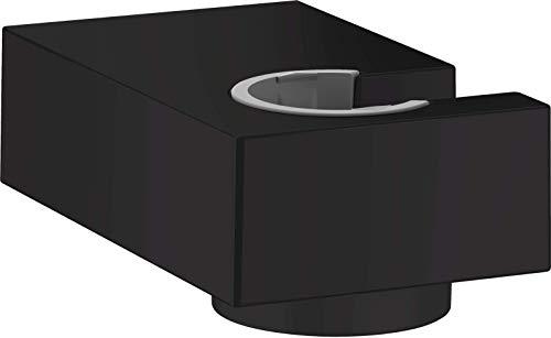 hansgrohe Porter E - Supporto per soffione doccia, colore: Nero opaco
