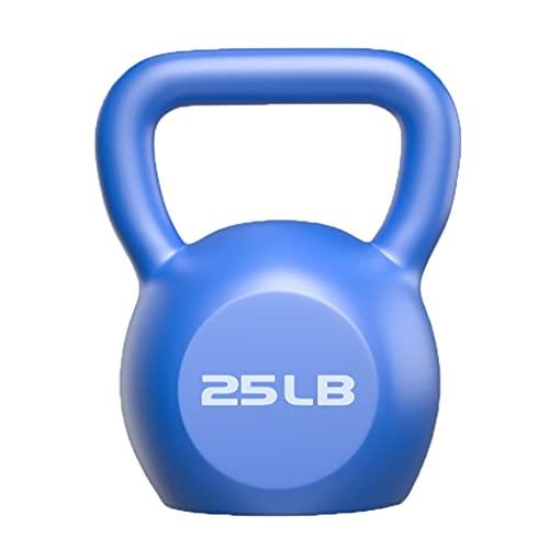 PIAOLING Peso de Kettlebell, Ejercicio de Entrenamiento de Fuerza de Hierro Fundido para el Entrenamiento Inicio Gym Fitness Core (tamaño : 25lb)