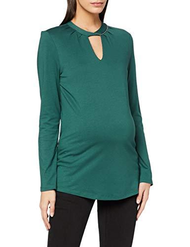 ESPRIT Maternity Damen ls T-Shirt, Hay Green-392, M