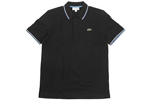 LACOSTE(ラコステ) 半袖 ポロシャツ ワンポイント ウルトラライトニット パイピングシャツ YH7900 (4(日本...