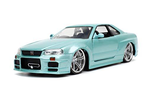Jada Toys Fast & Furious 1:24 Brian's 2002 Nissan Skyline...