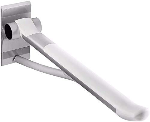 Barandilla Pasamanos Escalera Barra de aseo de aluminio de la aviación plegable Barra de barra de la barra de asaltezo, caja fuerte de la ducha Arejado de mano antideslizante para discapacitados Handi