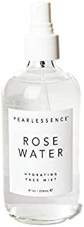 Pearlessence Aloe Rosewater Soothing and Hydrating Face Mist, 8 Oz