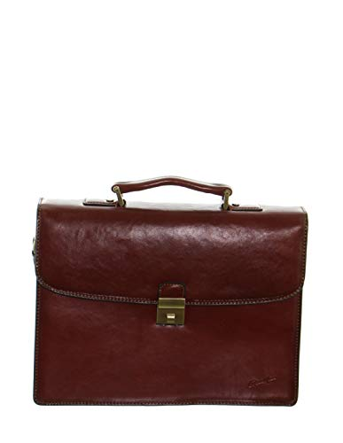 Gerard Henon 52054 - Toalla de piel, 38 x 28 x 12,5 cm, color marrón