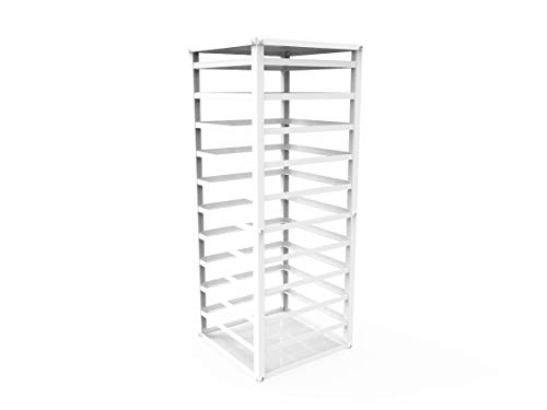 FixtureDisplays Fully Assembled Metal Displays, Counter top Earring Card Spinning Retail Rack Ship Assembled 12088