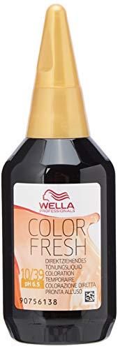 Wella Color Fresh Glanz-Tönung 10/ 39 helllicht blond gold-cendre, 75 ml