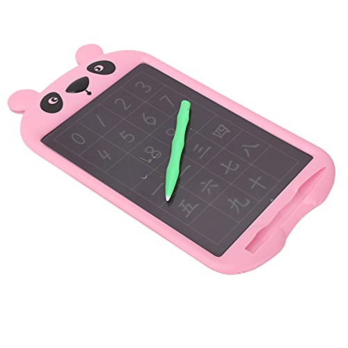 IDWT Tableta gráfica electrónica, 10 Pulgadas de Espacio de Escritura más Grande Tableta de Escritura LCD para niños para niños(Color Handwriting Pink)