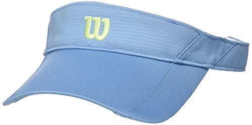 Wilson Rush WR5005012 Visiera da Tennis per Donna, Leggera, Taglia Unica, Blu