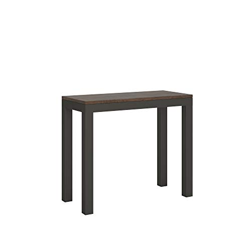 Itamoby Mesa consola extensible Everyday Evolution Small Nogal L.90 P.40 H.77 extensible hasta 196 cm