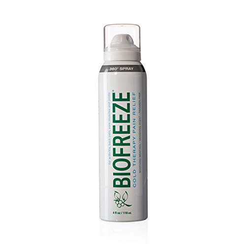 Biofreeze Pain Relief Spray, 4 oz. Aerosol Spray, Colorless (Packaging May Vary)