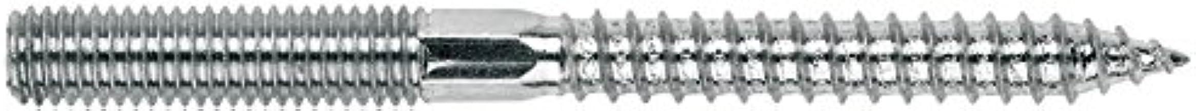 Index ESDR08050 tirafondo stokschroeven M8 x 50, 100 stuks