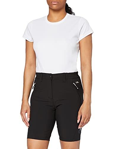 CMP Damen Hose Hose Bermuda, Nero, 40 (Herstellergröße: 46 IT)