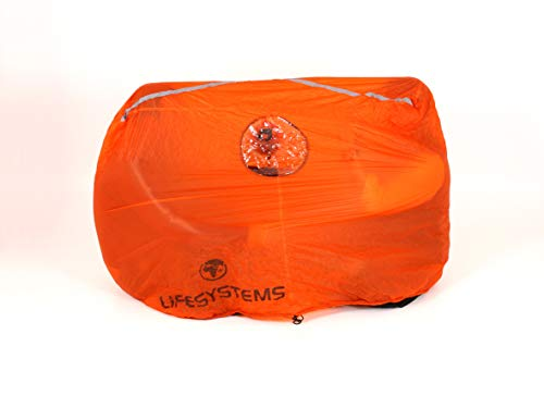 Lifesystems Survival Shelter 2, Unisex-Adult, Orange, 2 Pers