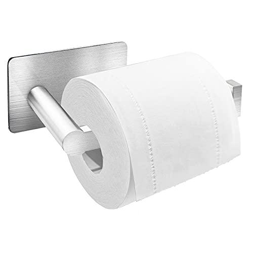 Auxmir Porta Carta Igienica Portarotolo Carta Igienica Adesivo 3M Porta Carta Igienica da...