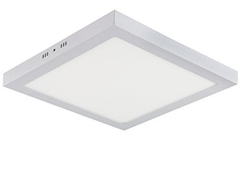 40w LED Aufputz Oberputz Deckenlampe Lampe Wandlampe Wandleuchte Deckenleuchte Deckenlampe Eckig Rechteckig 50x50 cm Kaltweiss 230v 40w 2800 Lumen