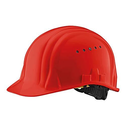 Schuberth B80519 Baumeister 80 Schutzhelm mit Drehverschluss, Rot