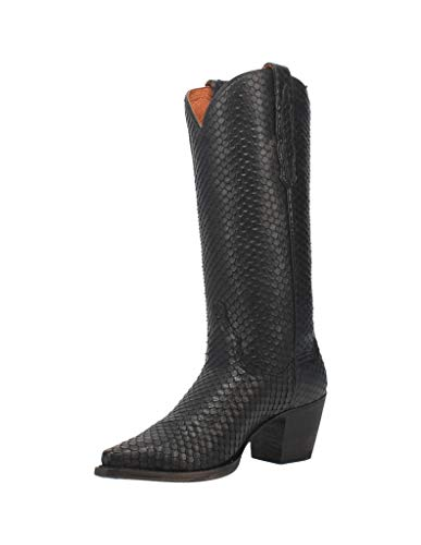 Dan Post Jovi Black Leather 6.5 B (M)