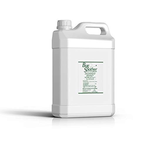 Bug Soother 1 Gallon - Natural Insect, Gnat and Mosquito Repellent & Deterrent with Essential Oils - DEET Free - Safe Bug Spray for Adults, Kids, Pets, Environment - Made in USA (Gallon w/o Sprayer)