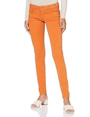 Pepe Jeans Soho Vaqueros, Naranja (Jaffa 188), 30W / 28L para Mujer