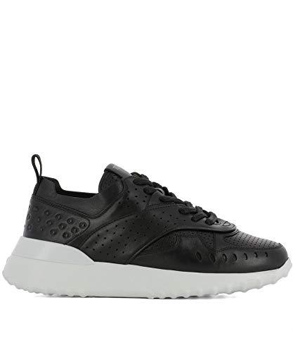 Tod's Luxury Fashion Damen XXW80A0W590JUSB999 Schwarz Leder Sneakers | Jahreszeit Permanent