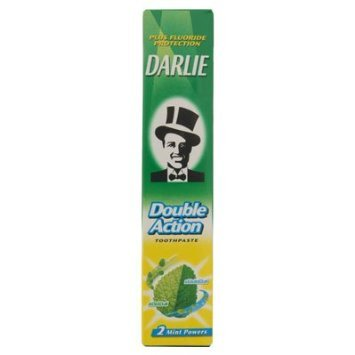 Darlie Double Action 2 Mint Powers (Hawley und Hazel) Zahnpasta plus Fluorid 50g