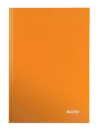 Leitz 46281044 Notizbuch WOW, A5, kariert, orange metallic