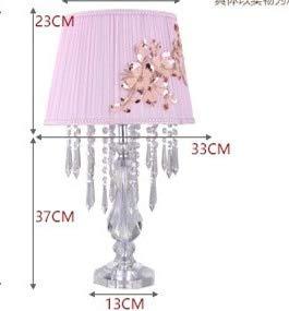 HNZZN Kristall Hochzeit Tischdekoration Lampen Led Küchentisch Licht Halloween Maniküre Touch Tischlampe Weihnachtsdekoration Lichter, B...