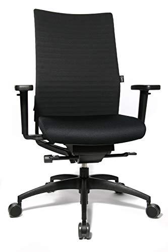 WAGNER Bürodrehstuhl ErgoMedic® 100-3 - schwarz