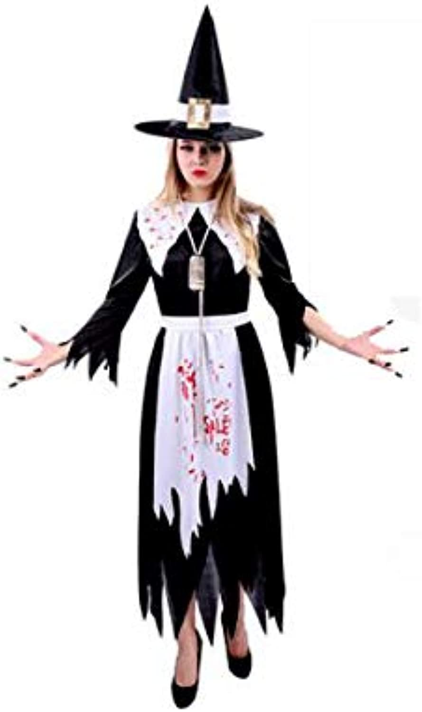 LKKWSJFZ Halloween Kostüm weiblicher Erwachsener Vampir Cosplay Hexe Kostüm Horror Zombie Braut B07J5J35CQ Verrückter Preis, Birmingham  | New Style