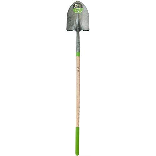 AMES 2535600 Tempered Steel Digging Shovel with Hardwood Handle, 60-Inch