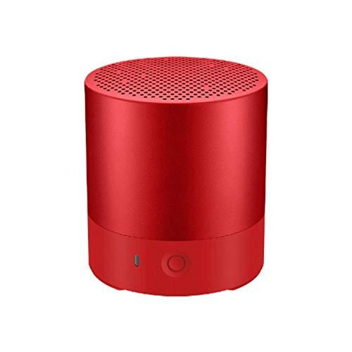 SFBBBO Bluetooth Lautsprecher Tragbarer Bluetooth-Lautsprecher Drahtloser Bluetooth-Lautsprecher Wasserdichter Stereo-Freisprecheinrichtung Elektrostatischer Hochtöner Rot