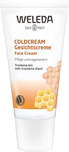 WELEDA Coldcream, Naturkosmetik Gesichtscreme zur intensiven Pflege von trockener bis sehr trockener Haut im Gesicht und am Hals, Feuchtigkeitscreme zum Schutz vor dem Austrocknen (1 x 30 ml)