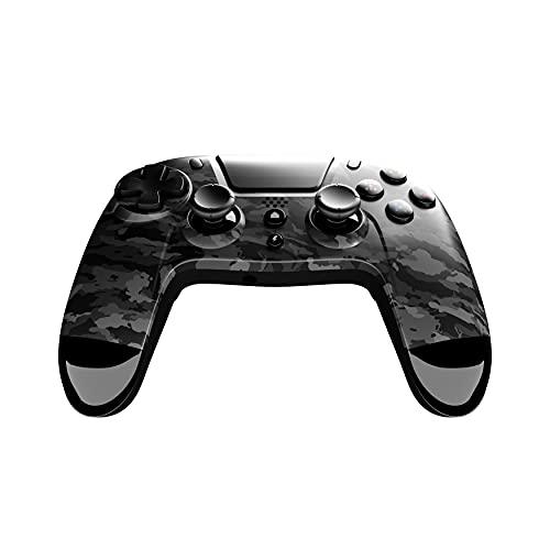 Gioteck - Mando Inalámbrico Con Botones Programables Dark Camo Gioteck Vx-4 Para Playstation 4 Y Pc (PlayStation 4)
