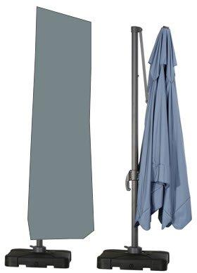 HBCOLLECTION Superiore Premium Traspirante Telo di Copertura Copri con Bacchetta per ombrellone decentrato 280cm