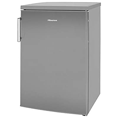 Hisense RL170D4BC21 56cm Wide Freestanding Under Counter Larder Fridge - Stainless Steel
