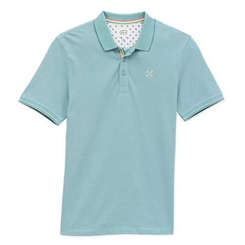 OxbOw M1NICO Polo Homme, Yucca, FR (Taille Fabricant : 2XL)