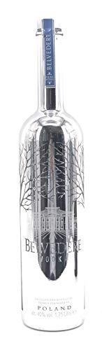 Belvedere Vodka Silver Saber LED Bespoke 1,75l 40% Vol