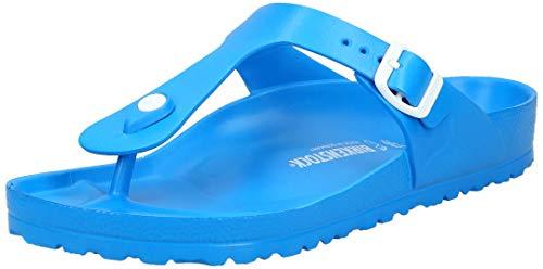 BIRKENSTOCK Unisex-Erwachsene Gizeh Zehentrenner, Blau (Scuba Blue), 39