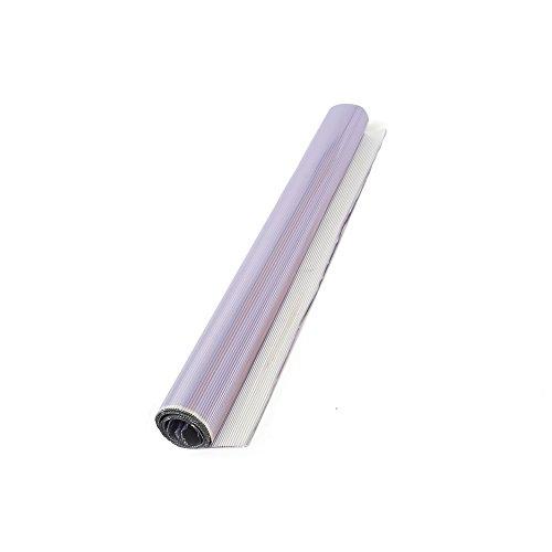 Decora 0339302 3 Fogli Alluminio Pieghettati, 50 x 70 cm, Carta, Lilla