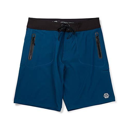 PELAGIC Hydro-Lite Pro Abyss Boardshorts | Size 36 | Blue