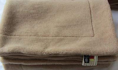 Oberbett Alpaka 135x200 gewendet 20% Alpaca Wolle 80% Merino Wolle