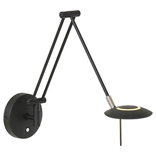 Steinhauer wandlamp Zodiac LED - zwart