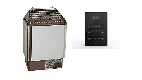 Amerec Sauna Heater with Rocks and Pure 2.0 Control Included (Sauna Designer Trend 4.5KW)