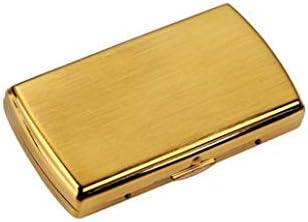 XIAOXIA Gold-Plated Copper Cigarette Case Award-winning store Sticks 12 Creative Genuine Por