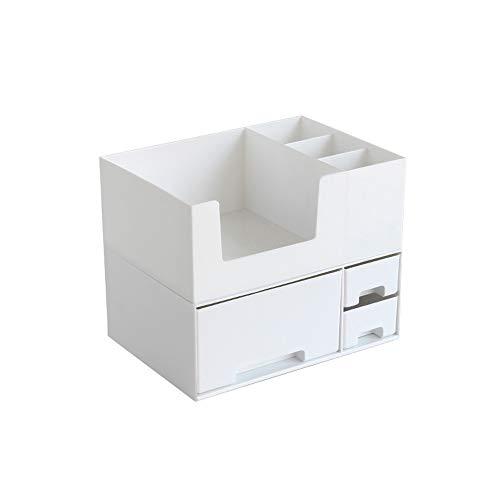MAIJIR Kosmetische Aufbewahrungsbox Weibliche Desktop-Finishing-Box Studentenwohnheim Haushalt Schublade Maske Box Hautpflegeprodukte Rack Einfache Lagerung Multifunktionale Aufbewahrungsbox Bürobedar
