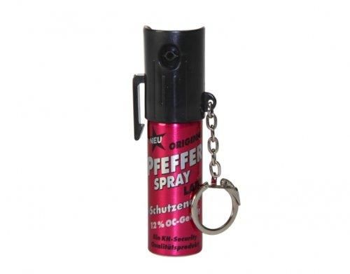 Pfefferspray Lady Pink 'Schutzengel' 15 ml inkl. Schlüsselanhänger
